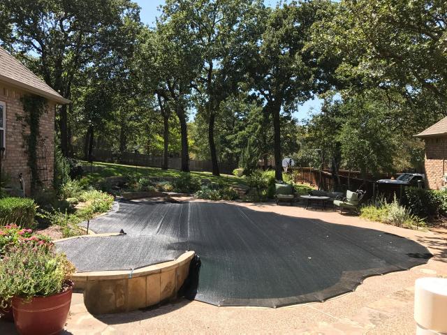 Pool cover ups