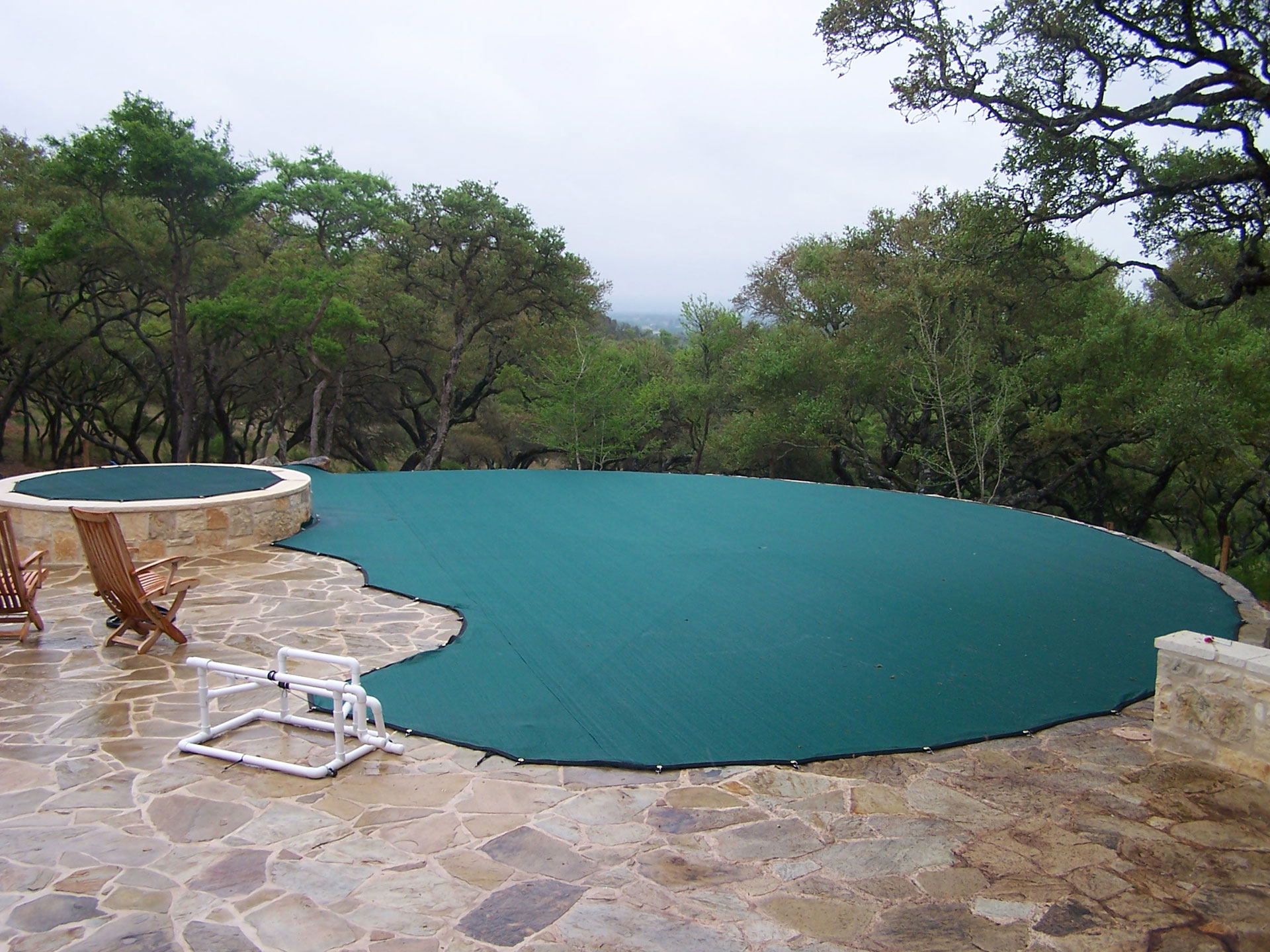 Combination - Pool Leaf Cover and Safety Net